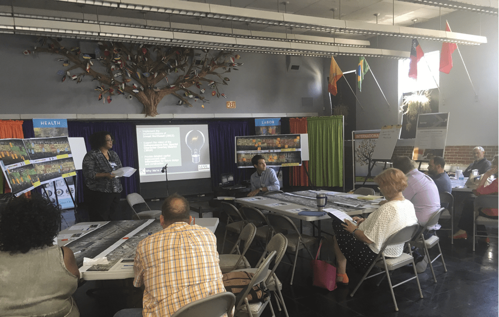 The Independence Avenue Pedestrian Safety Study Steering Committee