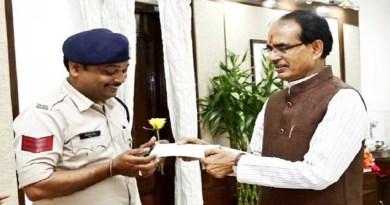 Head Constable Abhishek Patel