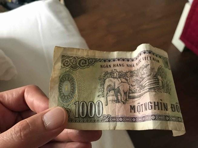 1000ドン