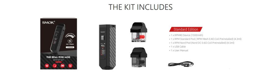 Rmp-40-kit-includes RPM-40 KIT The Real Pod Mod By Smok