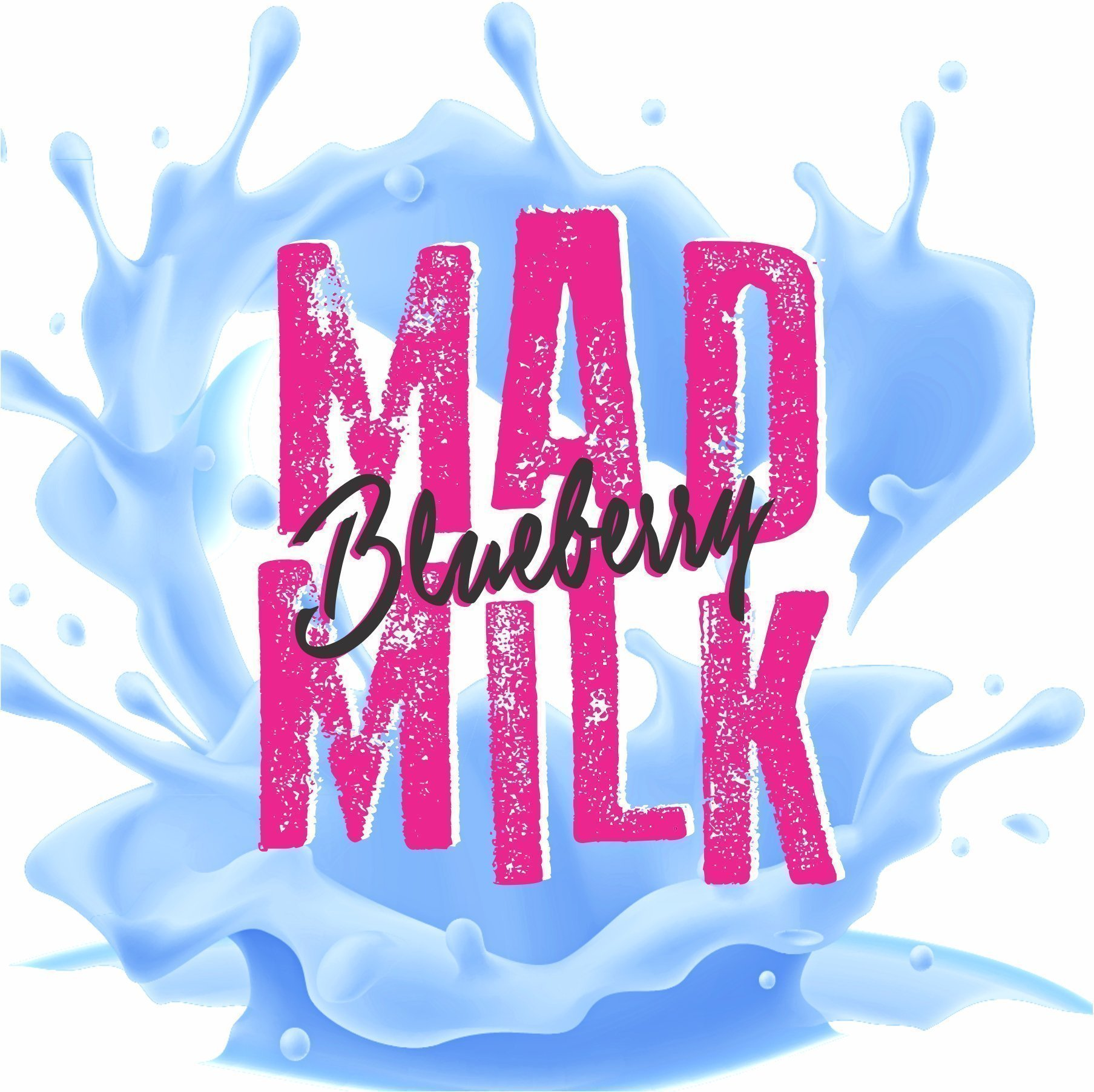 100ml-Mad-Milk-blueberry Blueberry Mad Milk E-liquid - 100ml