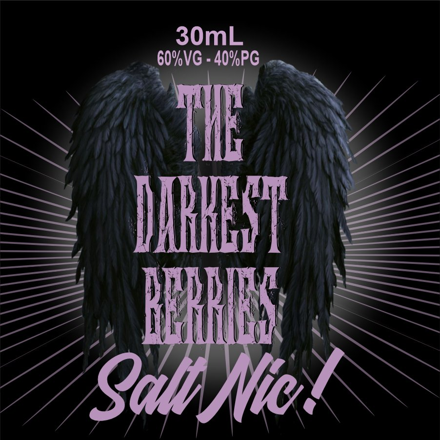 The Darkest Berries Salt Nic