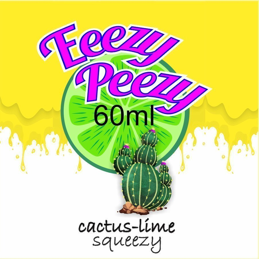 Cactus-LIme Squeezy 60ml