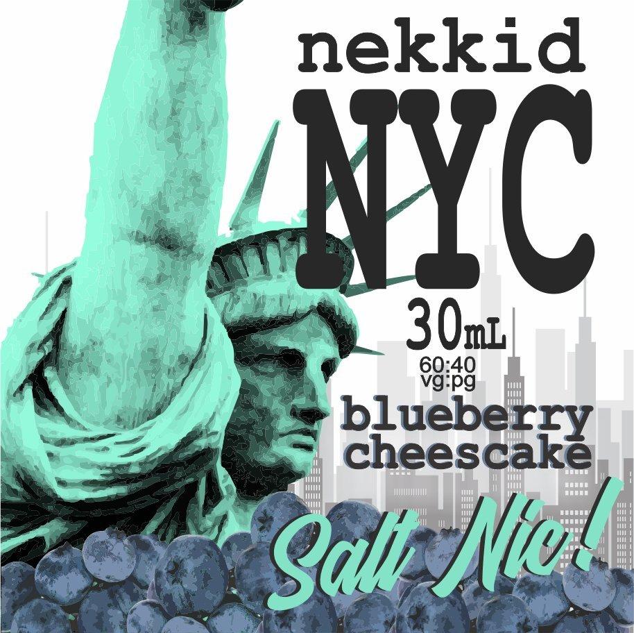 NYC Cheesecake - Blueberry Salt Nic