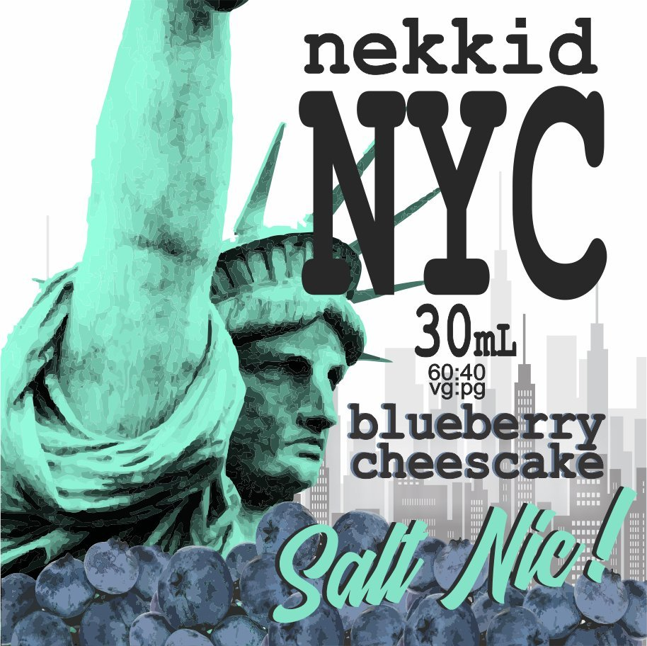 NYC Cheesecake - Blueberry Salt Nic
