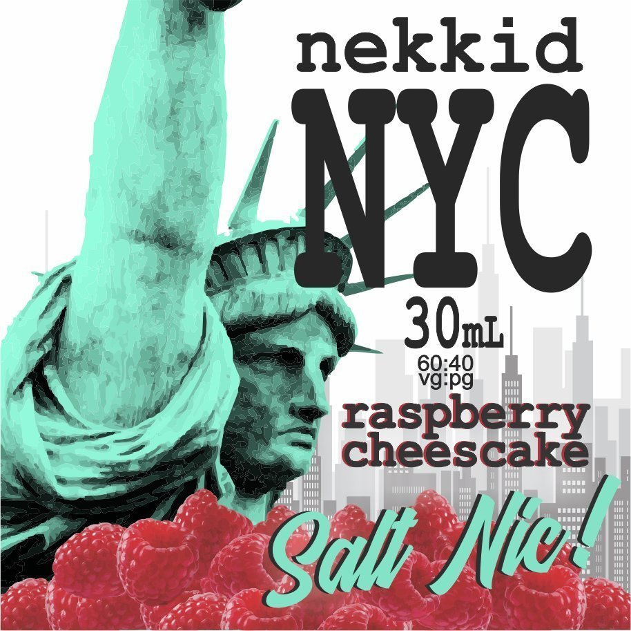 NYC Raspberry Cheesecake Salt Nic