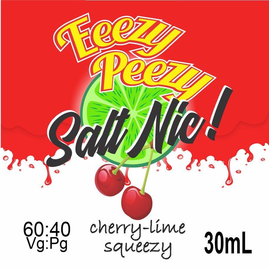 Eeezy Peezzy Cherry-Lime Salt Nic Squeezy