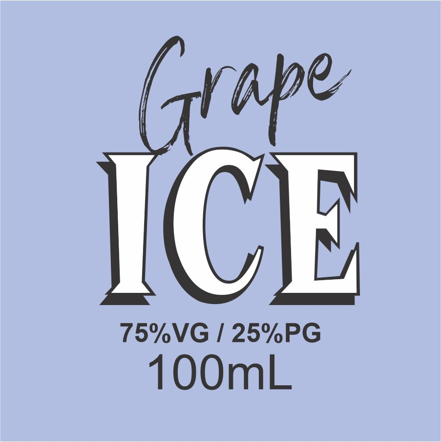 GRAPE ICE - 100ML