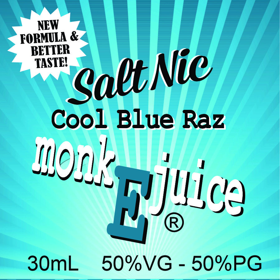 Cool Blue RAZ Salt Nic - NEW FORMULA