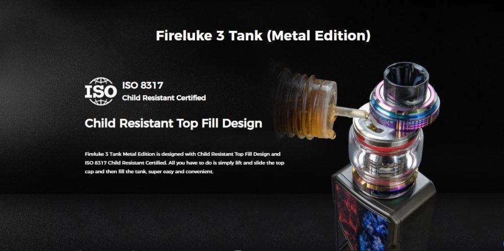 Fireluke 3 Metal Edition Tank