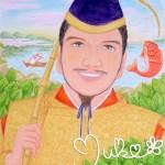 「事代主神」青柴垣に踊る鯛