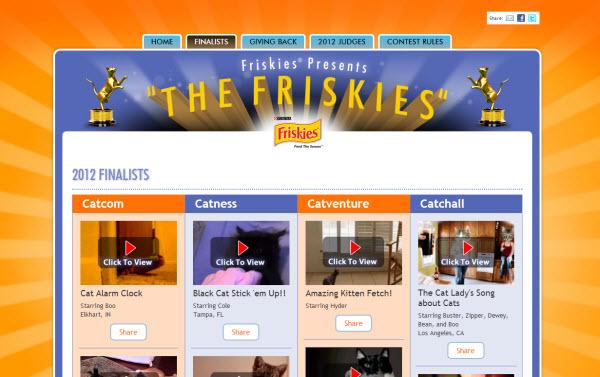 121119lNpeTCEPrRk02 - 米の猫動画コンテスト「THE FRISKIES」、優勝は「盲目ニャンコ、初めてのおもちゃ」(動画)