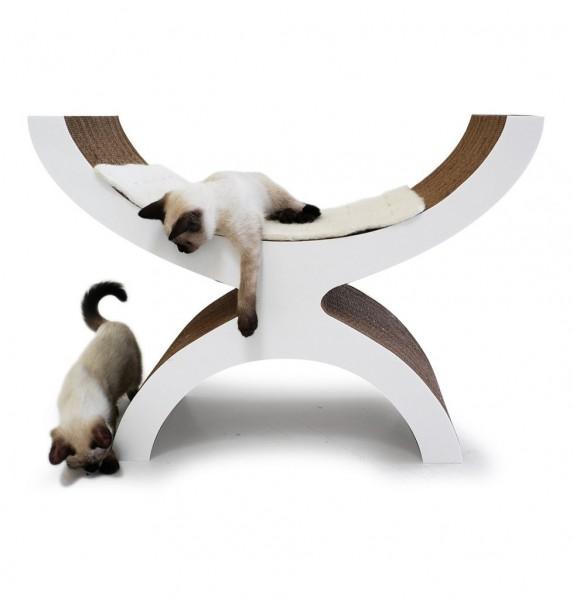 131001Couchette01 573x600 - モダンな猫ベッドシリーズ:Couchette