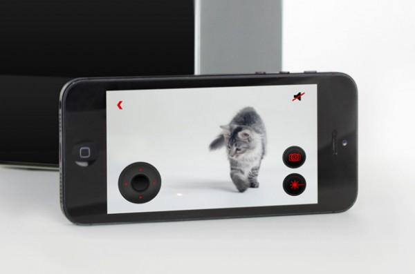 131001petcube02 600x397 - HDカメラ+レーザーポインタをスマホでリモート操作できる、猫ガジェット「Petcube」