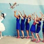 「ブーケの代わりに、花嫁が猫を投げる」というニッチすぎるコラ画像が集まるブログ