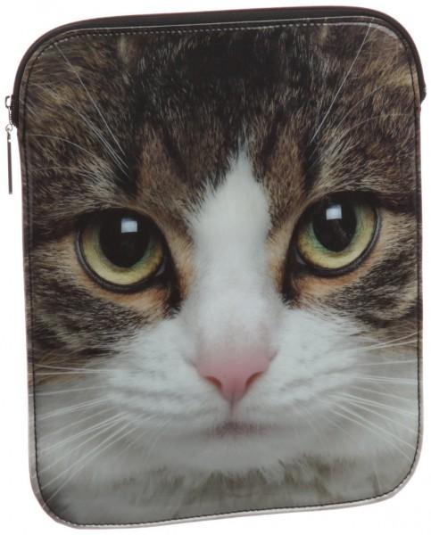140327ipadsleeve 483x600 - BEAMSの猫顔iPadスリーブ、キリリとした表情でかわいさ満点