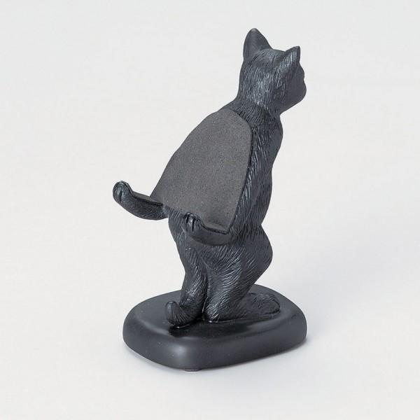 140612catstamd02 600x600 - スマホを背負う猫スタンド、存在感を漂わせる