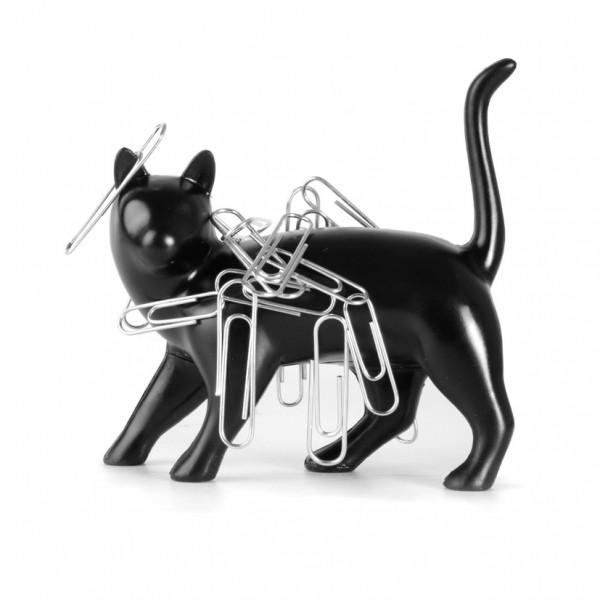 140622catmagnet 600x600 - 黒猫のマグネット、クリップを全身に纏う