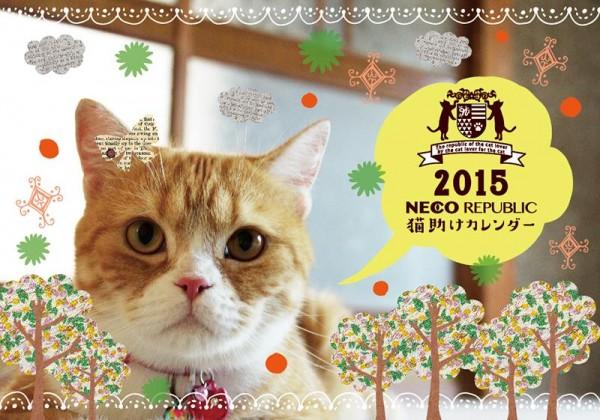 141203catcalendar01 600x420 - 売れるたびに猫が助かる、「猫助けカレンダー」が販売中