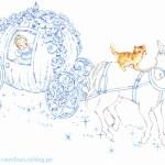 子猫のあぺりら絵本の中へ、2015年の猫物語アドベントカレンダー