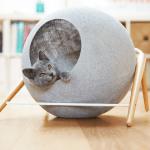 フランス発の洗練デザイン猫ベッド、日本でも2017年1月中旬販売開始に