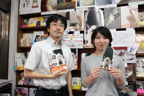 170828nobicat02 600x400 - のび猫写真が書店に集結、神保町にて9月8日までパネル展が開催