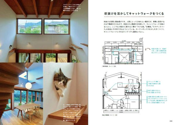 170912nekobook03 600x426 - 品切れの『建築知識』の猫特集、内容増やして単行本化