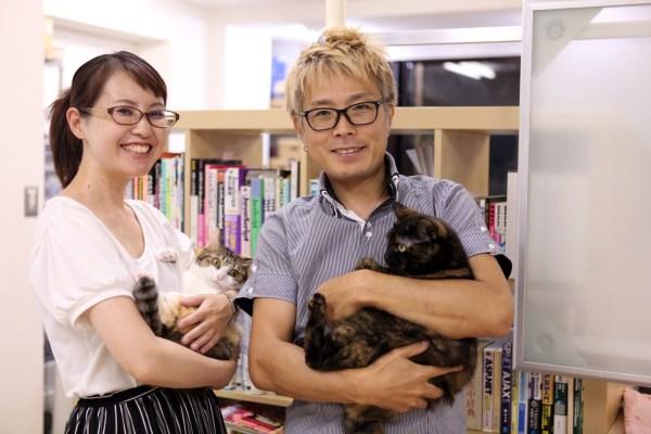 170927 IMG 7418 2000 600x400 - 猫とはたらくvol.01「目的は、猫を職場で飼うことではなく、保護できる猫を増やすため」
