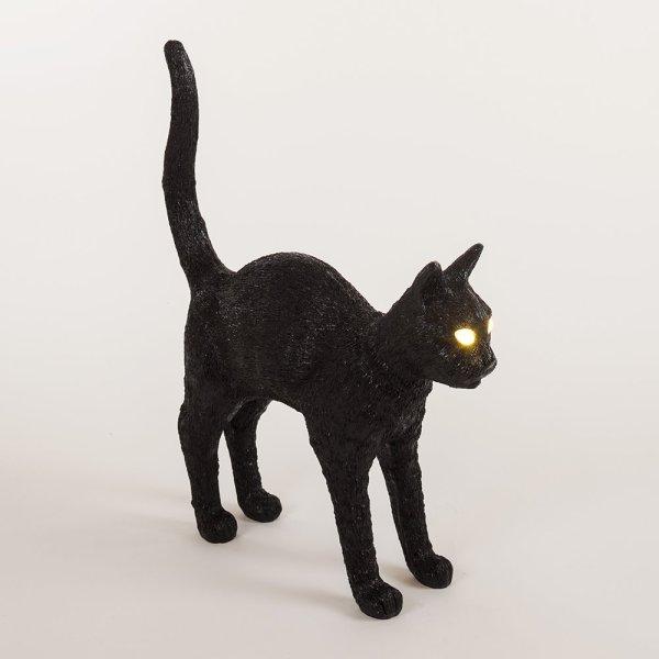 181011jobby the cat lamp03 600x600 - 暗闇を鋭く照らす猫の目ランプ、給電箇所はまさかのあの穴