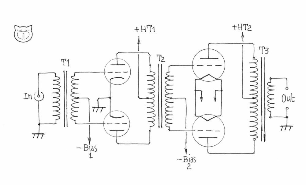medium resolution of circuit transfromer phase splitting schematic diagramcircuit transfromer phase splitting manual e books vacuum tube circuit
