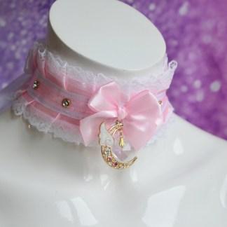 Ddlg collar - Moonlight princess