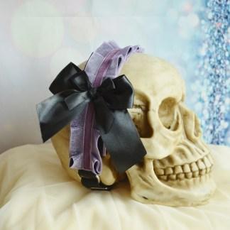 Goth Lolita headband - Opalina