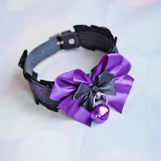Goth Kitten play buckle collar - Sagittarius