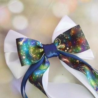 Pastel galaxy cute star colourful bow