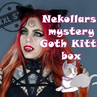 Mystery Gothic Kitten Box in XXL Size