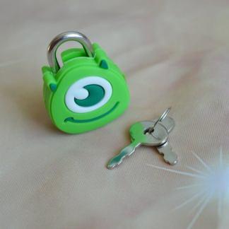 Mike Wazowski shaped lock