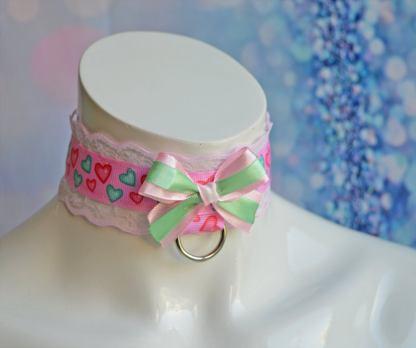 Kittenplay collar - Soft Hearts