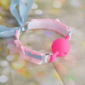 Pink ballgag