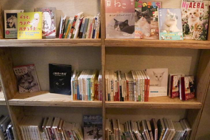猫本の本棚
