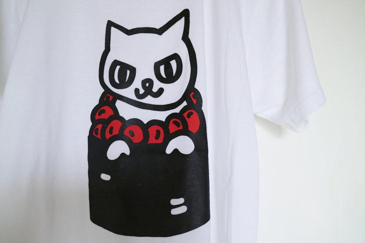 いくらねこTシャツ