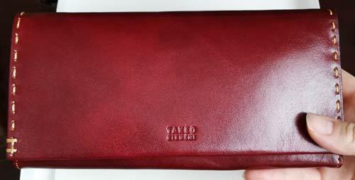 【タケオキクチ長財布】女だけど男性物の財布を買った