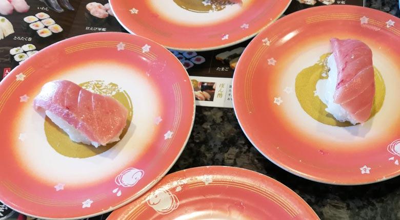魚屋路の大感謝還元祭の詳細。100円の大とろやお寿司の感想など。