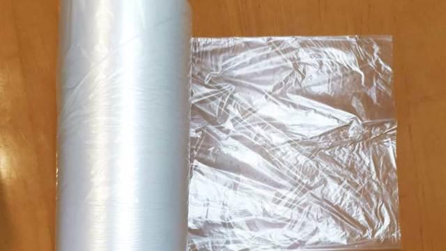 スーパーのロール型ポリ袋(水濡れ防止袋)を安く買う方法。オーケーストアの紹介。