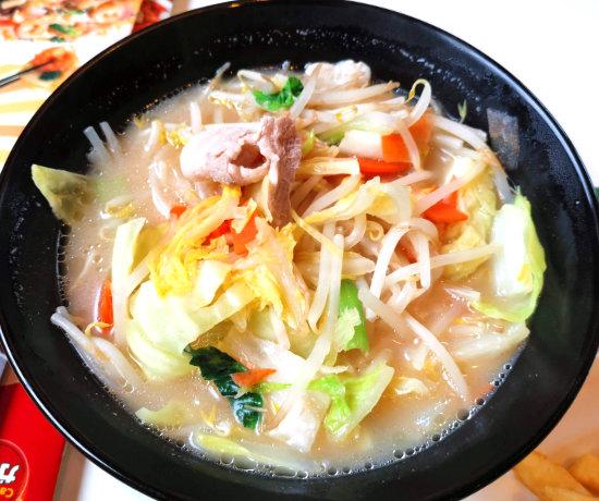 ガストの1日分の野菜のベジ塩タンメン