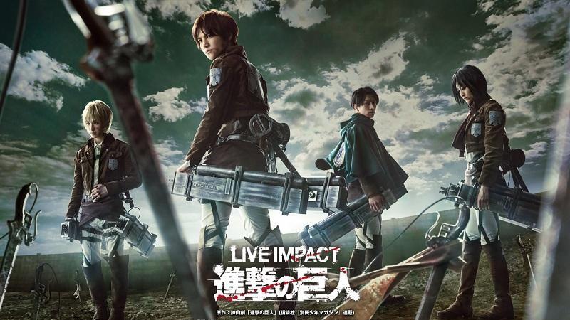 Live Impact Attack on Titan