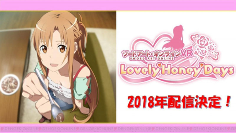 Yuk Kencan Bersama Asuna Dalam Game VR Sword Art Online Lovely Honey Days!