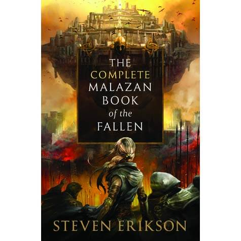 complete malazan book of thr fallen steven erikson