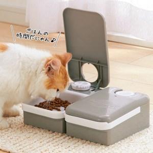留守がちな飼い主が選んでいる「使える自動給餌器」3タイプ♪