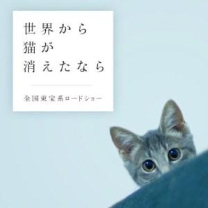 あなたは猫を消せますか?まもなく公開 映画『世界から猫が消えたなら』
