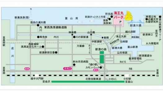富山新港花火大会アクセス